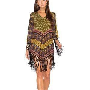 NWT Raga On The Horizon Fringe Dress Size S
